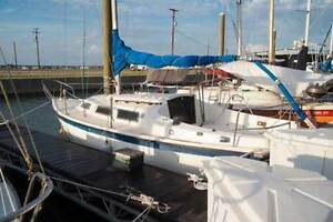 Columbia 7..6 Sailboat with Cradle and Trailer