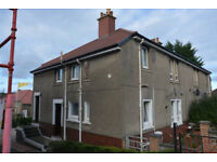 Herriot St Coatbridge two bedroom unfurnished lower cottage flat two minutes walk from train station