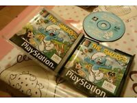 The Smurfs Playstation 1 game