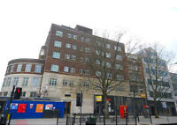 Spacious studio 5 minutes to the West End -Warren Court, 293-295 Euston Road NW1 all bills included