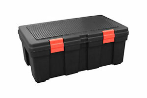 Like New !!! GSC 118L Storage Locker Black/Red Latches
