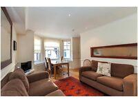 Double 3 bed 2 bathroom flat west Kensington w14