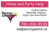 Need some HELP with your function/party?? We can help cater!!!