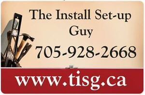 The Install Set-Up Guy Installation Services and More! Kawartha Lakes Peterborough Area image 1