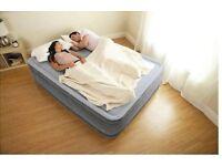 Self-inflating Airbed - Intex Dura-Beam Comfort-Plush Elevated Airbed