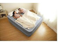 *HOUSE CLEARANCE*: Self-inflating Airbed - Intex Dura-Beam Comfort-Plush Elevated Airbed