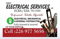 Affordable Master Electrician . Free estimates.