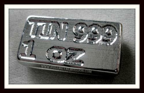 Tin Bullion Ebay
