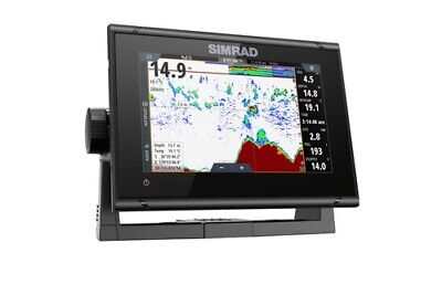 """Expedited Delivery! Simrad GO7 XSR 7"""" Plotter Totalscan C-Ma"""