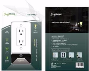 Smart Wall charger Led Night Lamp /USB 3.1 amp DIY - No electrician required for installation!!
