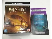 Harry Potter 4K Ultra HD 8 film colletion boxset + Digital Download