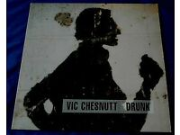 VIC CHESNUTT 'Drunk' - Texas Hotel 1994 UK original LP + insert w/Syd Straw - Rare