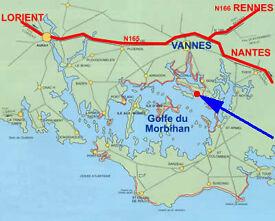 Your Gite along Morbihan Gulf 45 islands Brittany