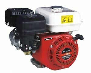 Petrol-Engine-13HP-Recoil-Start-4-Stroke-Horizontal-Shaft-Motor