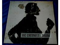 VIC CHESNUTT 'Drunk' - Texas Hotel 1994 UK original LP + insert