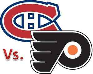 Four Tickets for Tonight's HABS vs FLYERS game, Sec 306, Row D West Island Greater Montréal image 1