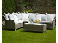 Bramble Crest Garden Furniture Set - Wicker look