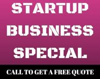 Startup Business Consulting. Web design. Logo. Call 2892720340