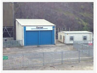 I am looking for a light industrial with a yard for a car sales business around Bristol