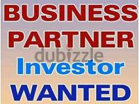 Looking for buisness partner with investnent