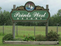 Lot 26 approx. 40ft by 80ft at Points West Resort