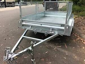 6 x 4 Heavy Duty Galvanised Trade Trailer  Single Axle NON Braked Erina Gosford Area Preview