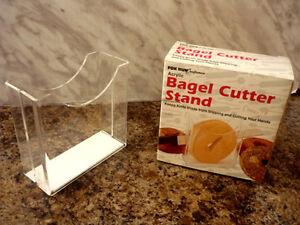 Bagel Cutter STAND ... other kitchen items Cambridge Kitchener Area image 1