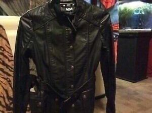Women leather jacket - brand new leather jacket size 10 Bankstown Bankstown Area Preview
