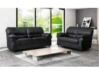 candy leather sofas brand new