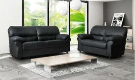 Candy leather couch corner or 3&2 seater
