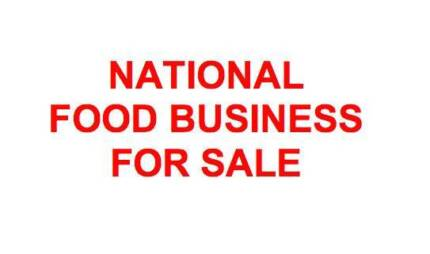 National Business for Sale- Food industry