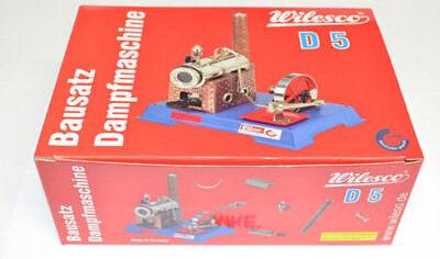Wilesco 0005 D5 Dampfmaschine Bausatz wie D6 NEU in OVP Dampf- Maschine
