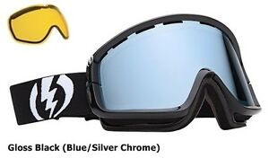 NEW Electric EGB2 mirror & extra lens mens ski snowboard goggles 2013 Msrp$130