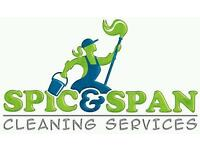 Spik & span cleaning services