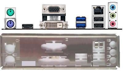 ATX Blende I/O shield Asus A68HM-Plus #661 io NEU backplate bracket NEW A78M new