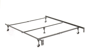 METAL Frame KING Bed Rails Double /queen Single Bed Rails