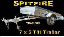 STOCK CLEARANCE SALE 7x5 Tilt Box Trailers HD HDG Salisbury North Salisbury Area Preview