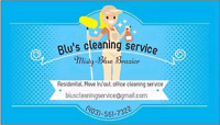 Blu's cleaning IS HIRING!!!!!