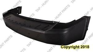 Bumper Rear Primed With Parking Sensor Without Trailer Hitch Jeep Liberty 2008-2012