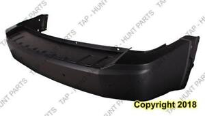 Bumper Rear Primed With Parking Sensor Without Trailer Hitch Capa Jeep Liberty 2008-2012