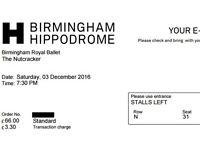 Birmingham Royal Ballet The Nutcracker Saturday 03 December 7:30 PM