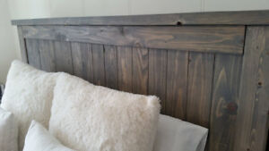 Rustic Farmhouse Style Headboards - Handmade - Solid Wood