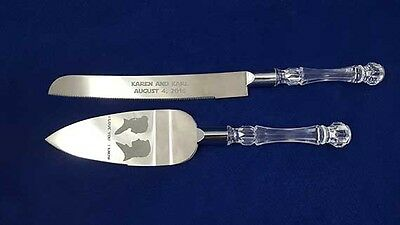 Star Wars Engraved Wedding knife set personalized Starwars
