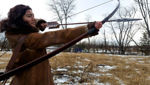 7 Ft Prop Longbow PVC Pipe Bow, Bard