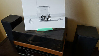 Vinyl Record Display Stand - 3D Printed Free Standing Display