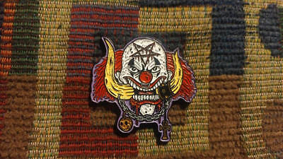 E0150 TV MOVIE COSPLAY EMBROIDERED PENNYWISE CLOWN PATCH INSPIRED BY IT