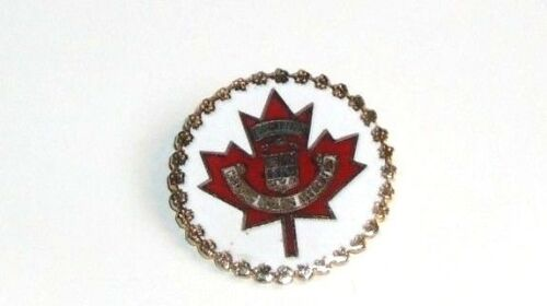 Canadian Curling Association Pin - Founded in 1935
