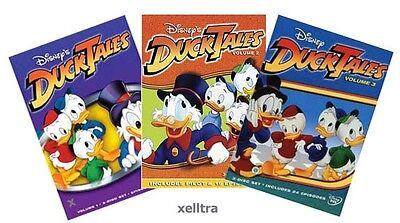New DuckTales Duck Tales Volume 1 2 3, Vol. 1-3 (Ducktales Volume 2 Dvd)