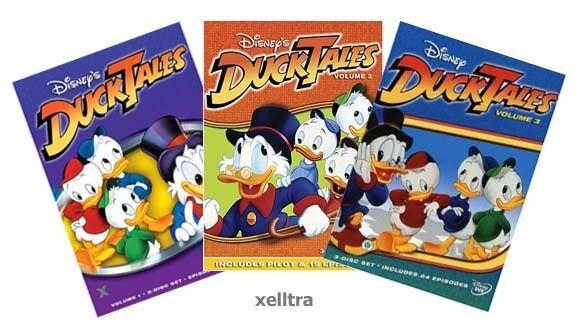 Ducktales Duck Tales Volume 1 2 3, Vol. 1-3