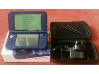 The New Nintendo 3DS XL Metallic Blue Handheld Games Console